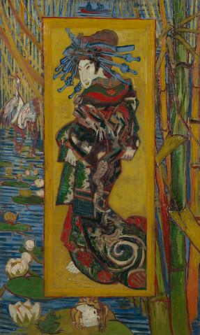 Courtesan After Eisen Van Gogh Museum