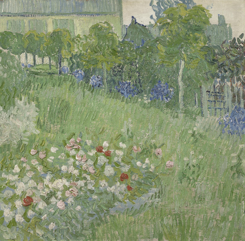 Daubigny S Garden Van Gogh Museum. Flowering ...