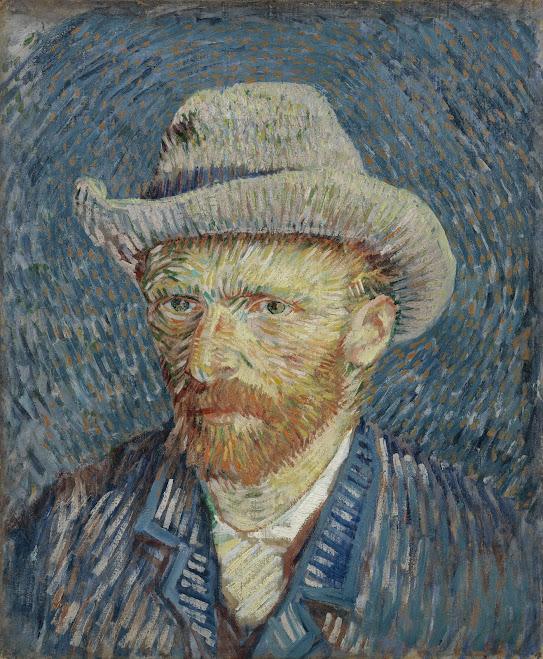 Self-Portrait with Grey Felt Hat - Van Gogh Museum