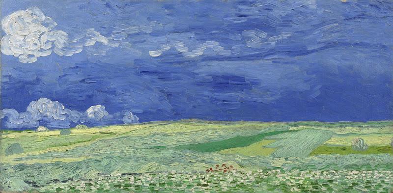 Korenveld Onder Onweerslucht Van Gogh Museum