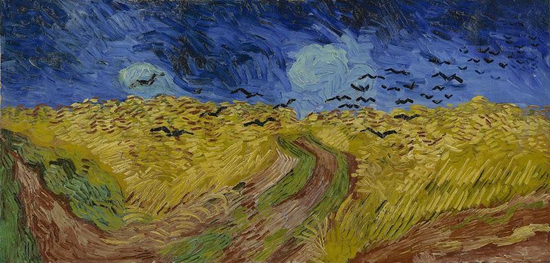 Korenveld Met Kraaien Van Gogh Museum