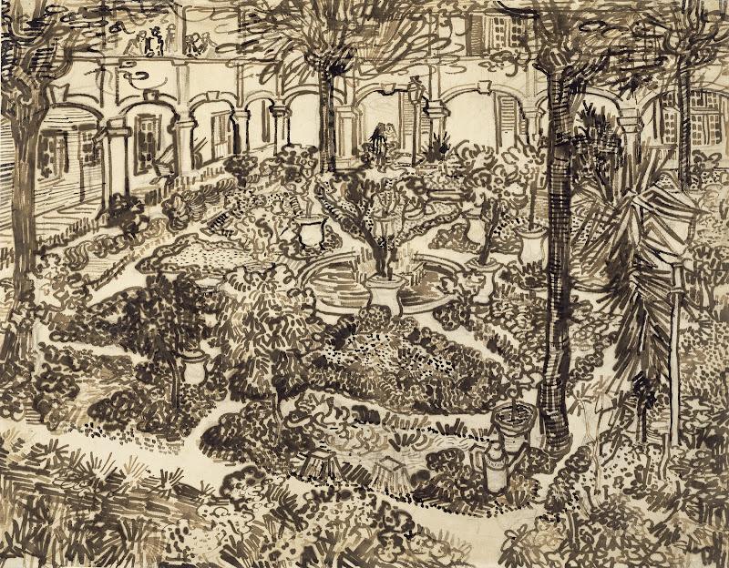 Garden of the Hospital - Van Gogh Museum