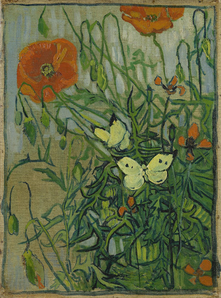 """Résultat de recherche d'images pour """"van gogh museum, butterflies and poppies"""""""