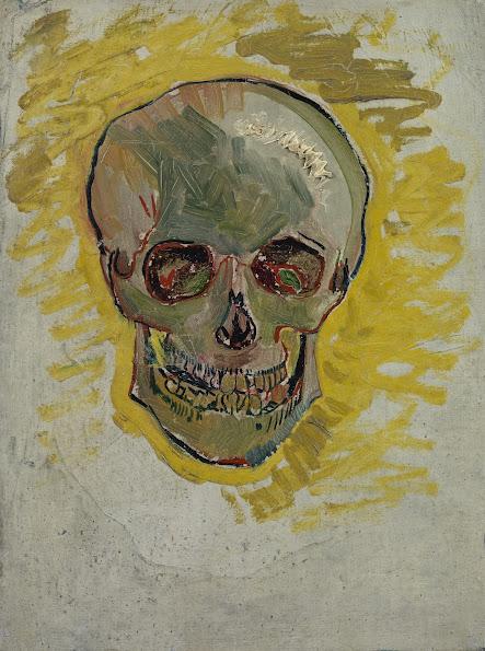 skull van gogh museum