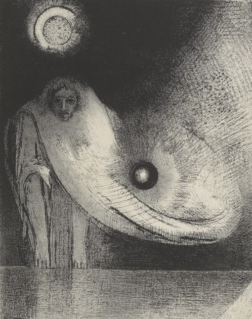 Image result for odilon redon buddha paintings
