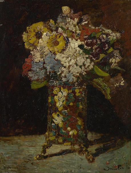 Van Gogh Vase With Flowers Vase And Cellar Image Avorcor