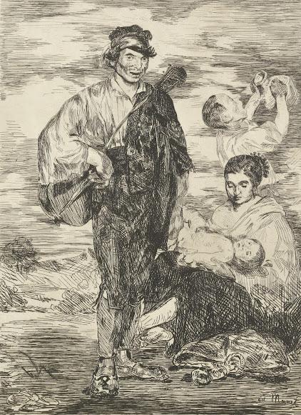 Картинки по запросу manet the gypsies