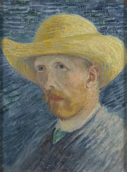ed22a882412 Vincent van Gogh - Self-Portrait with Straw Hat - Van Gogh Museum