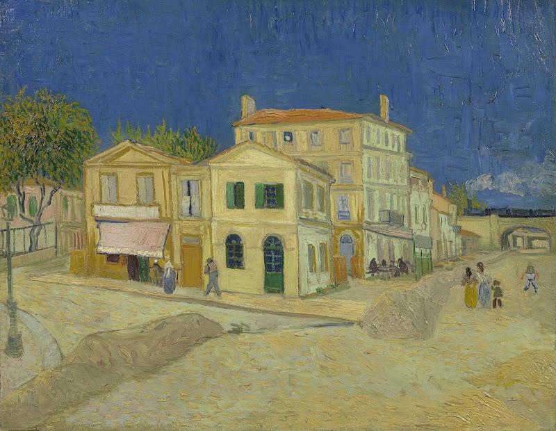 Kleurplaten Van Huizen : Vincent van gogh het gele huis de straat van gogh museum