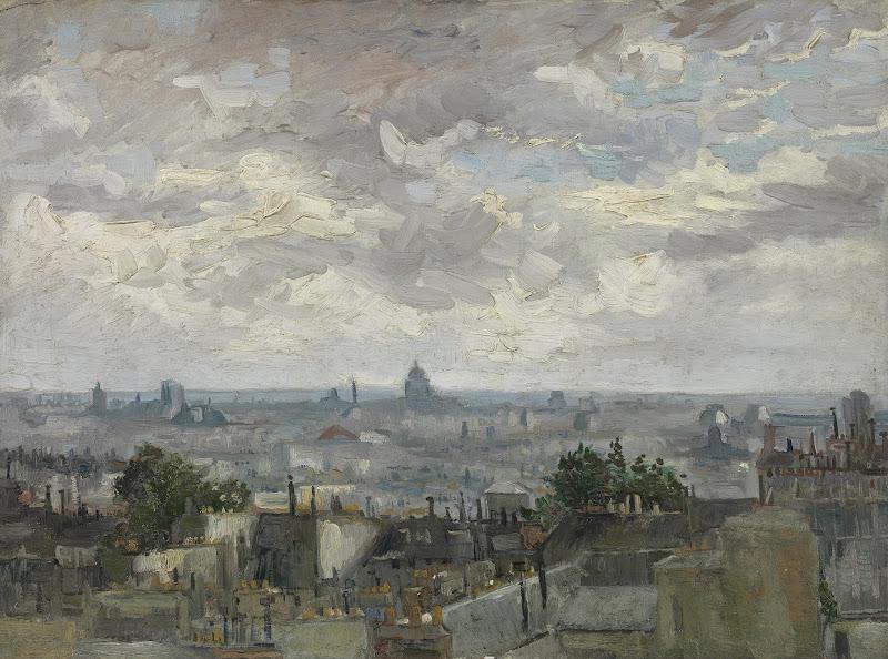 Vincent Van Gogh View Of Paris Van Gogh Museum