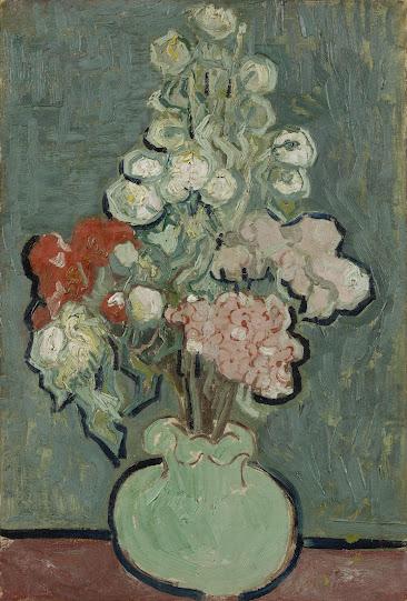Terms ... & Vincent van Gogh - Vase of Flowers - Van Gogh Museum