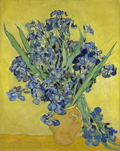 Irises van gogh museum for Van gogh irises